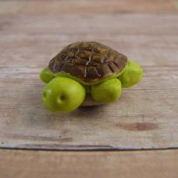 Tiny Green Turtle Figurine